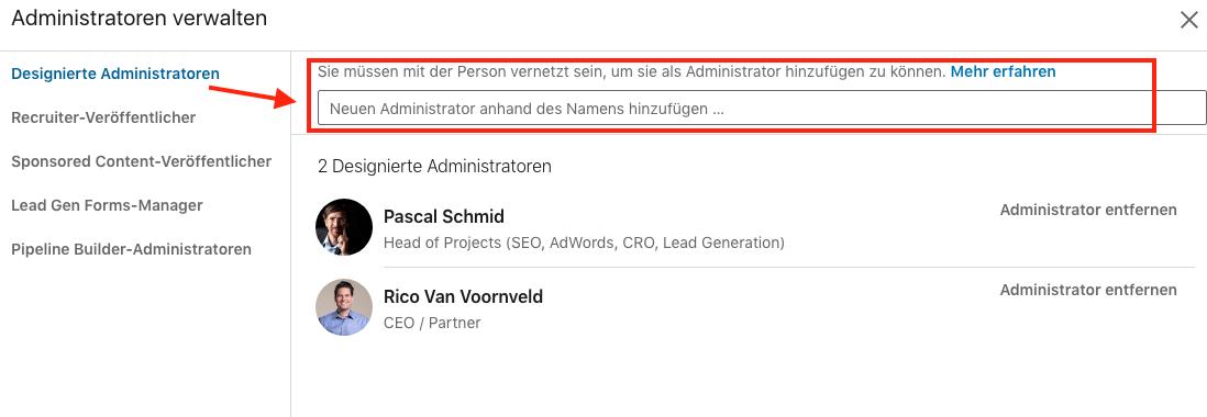 LinkedIn-Zugriff-auf-Unternehmensseite-einrichten2